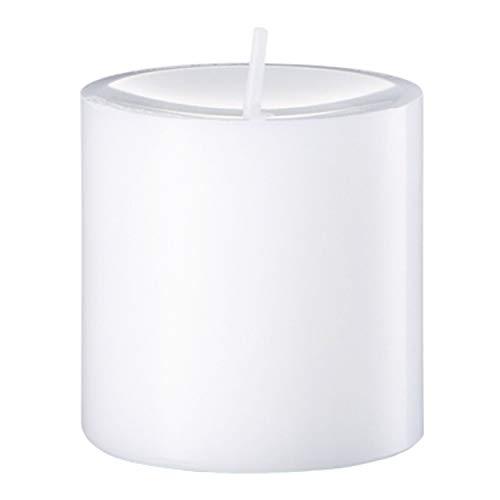 Unbekannt Engelskerzen Weiß Stumpenkerze, Wachs, 8 x 8 x 8 cm