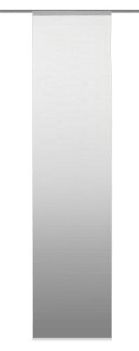 Home Fashion 86508-703 Schiebevorhang Digitaldruck Madrid/Dekostoff 245 x 60 cm, Grau