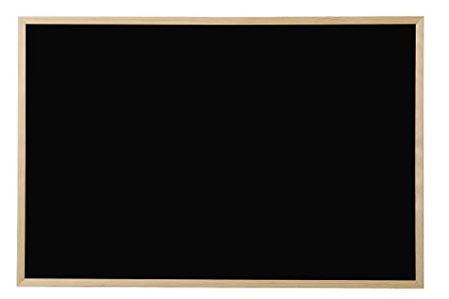 Bi-Office, Blackboard Basic, Kreidetafel mit Kiefer Rahmen, 60x40cm