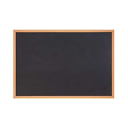 Amazon Brand – Eono Kreidetafel magnetische Schultafel groß 90cm x 60cm – zum Aufhängen an die Wand, Memoboard für zu Küche, Schule, Geschäft, Büro