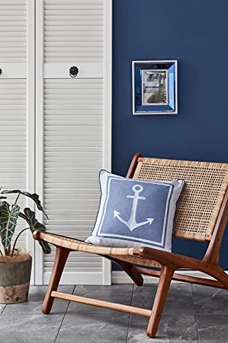 NAUTICA Marine Kissen und Kissenbezug   Dekorative Dekokissen Kissenbezüge für Sofa Couch, Auto, Schlafzimmer, Wohnzimmer