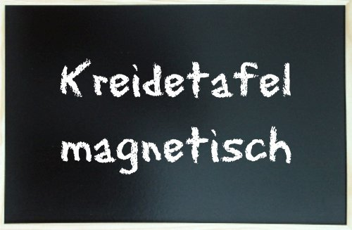 Kreidetafel 80 x 120 cm magnetisch mit Holzrahmen