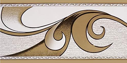 Dundee Deco BD5020 Tapete mit abstraktem Muster, Retro-Design, 10 m x 5 cm, selbstklebend