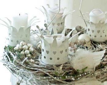 Deko Weiiß zu Weihnachten
