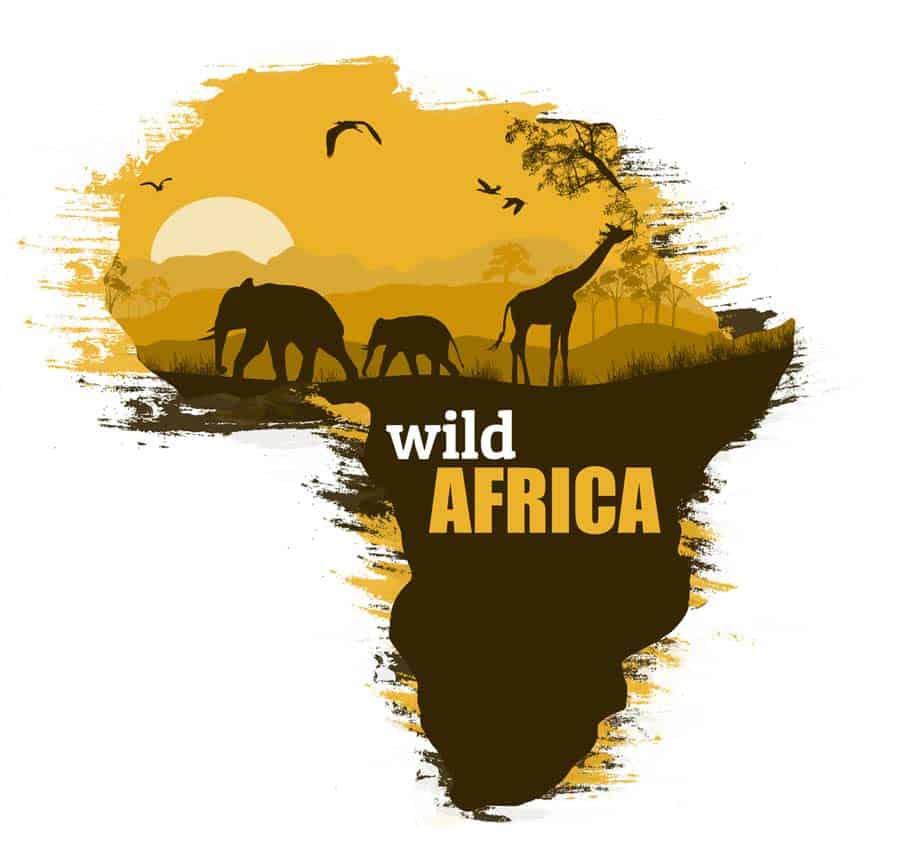 Wandtattoo-Afrika © depositphotos.com/