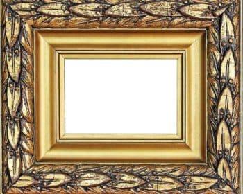 Üppiger Bilderrahmen in Gold