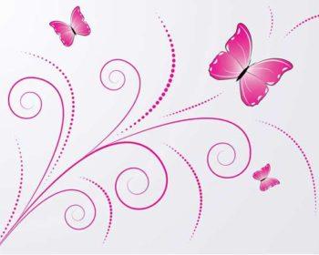 Schmetterlinge als Wandtattoo © depositphotos.com